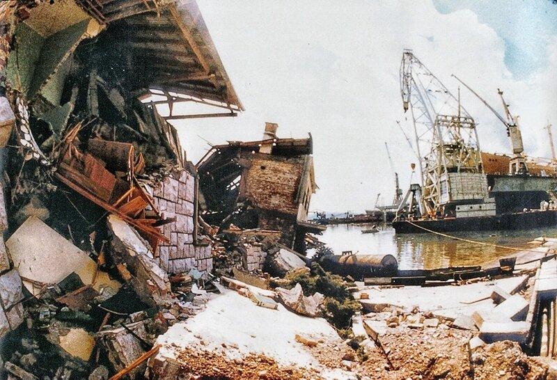 землетрясение в Черногории, судоверфь в Биеле