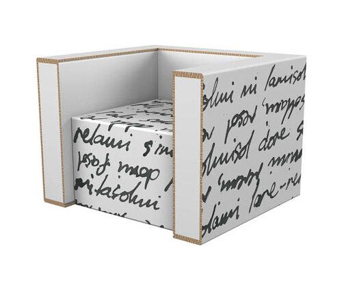 Экологическая мебель - мебель из картона