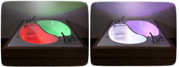 Оригинальная ванна для романтиков и влюбленных