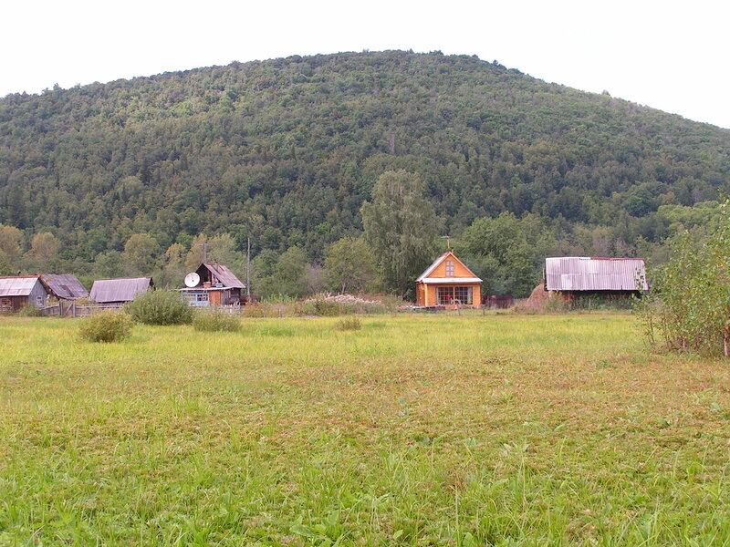Умиротворённый пасторальный вид... Многие жители Уфы имеют дачи в этом посёлке (04.07.2013)