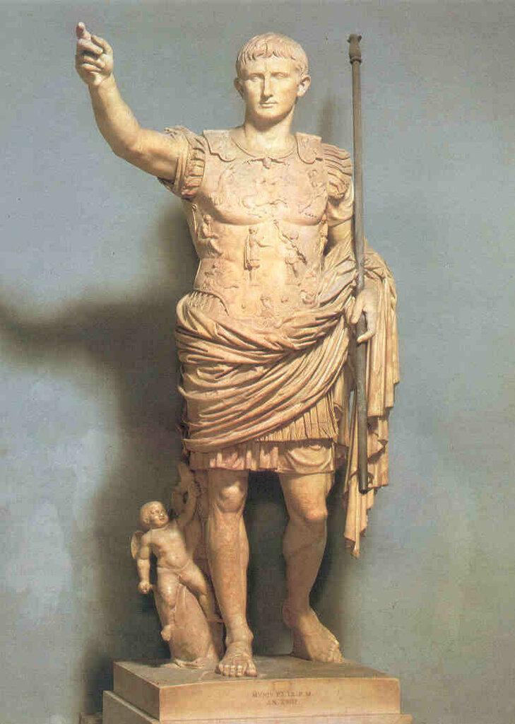 статуи в древнем риме в картинках