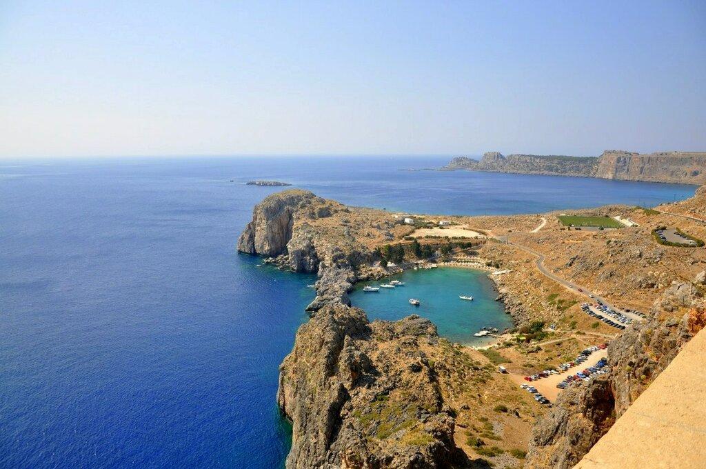 Карта острова Родос | Туризм, путешествия, отдых за