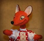 Кукла для кукольного театра лиса