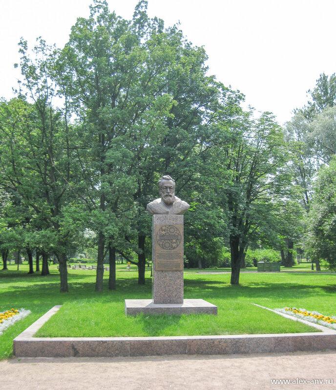 Московский парк Победы. А.Н.Чилингаров
