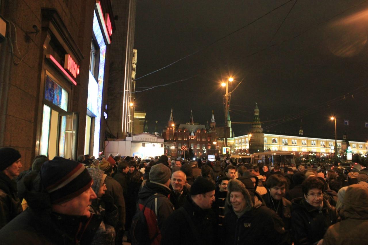 Кремль испугался Манежки