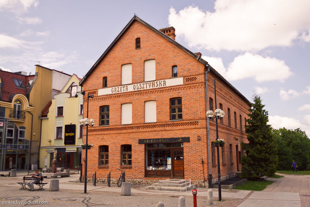 Ольштын, Польша, Ольштынский замок, Olsztyn