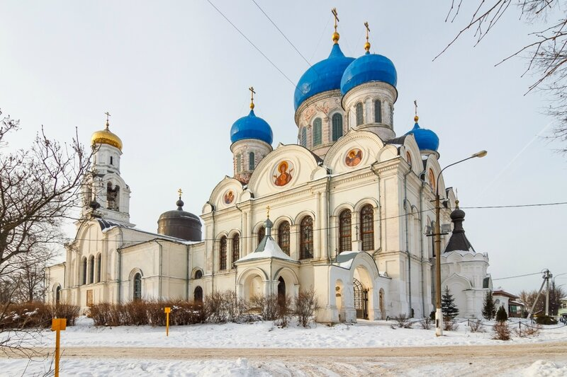 Никольский храм в Рогачево