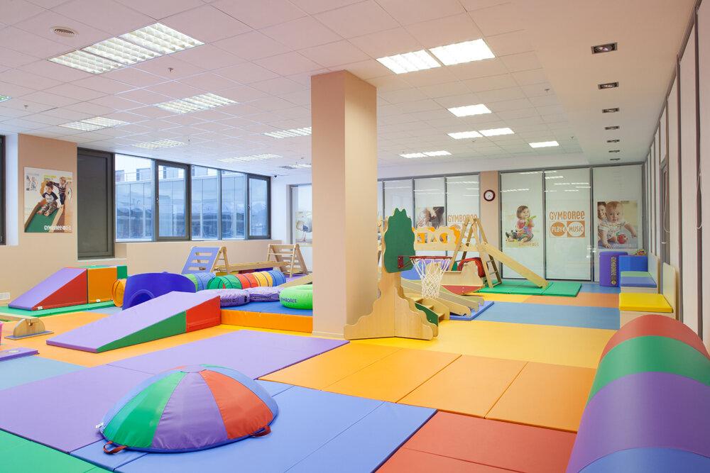 зал активных игр для детей дошкольного возраста