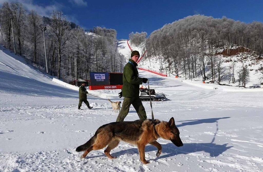 Полицейские посты и патрули, которые обеспечивают охрану горнолыжных трасс (3)