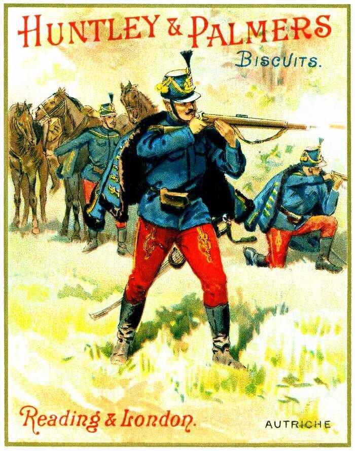 Солдаты австро-венгерской армии (1)