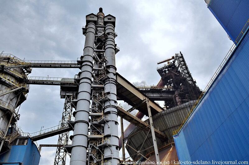 Как выплавляют сталь. НЛМК