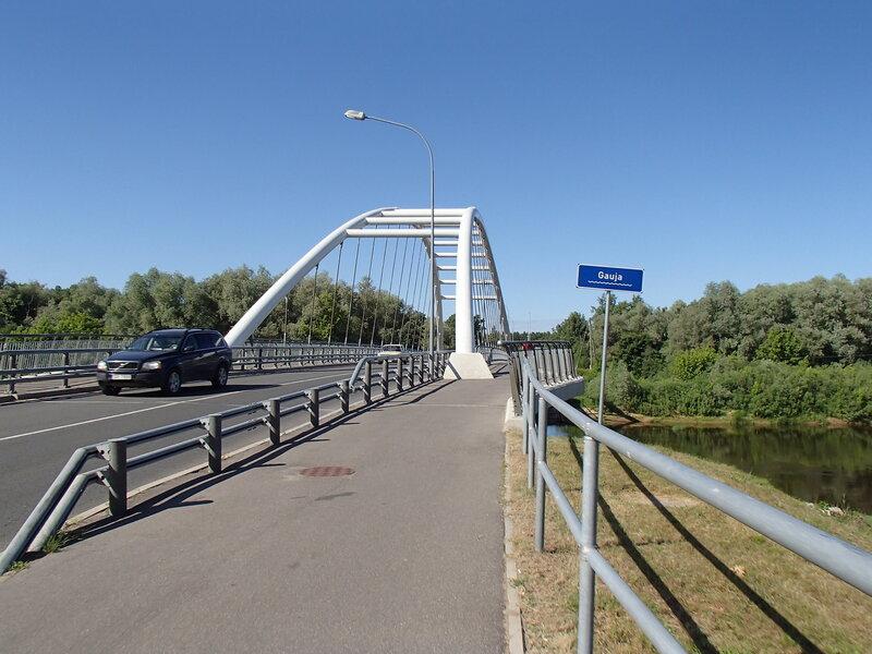 мост через Гаую в Адажах