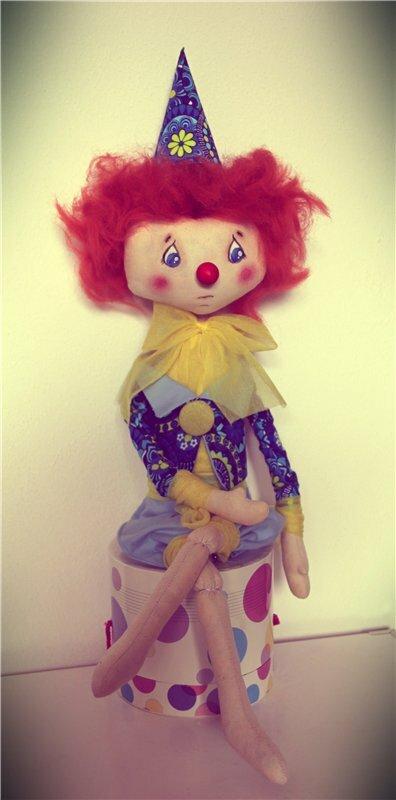 клоун кукла
