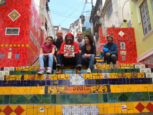 Лестница Селарона. Рио-де-Жанейро