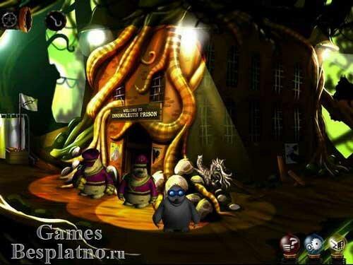Рекс и Крот в подземном городе