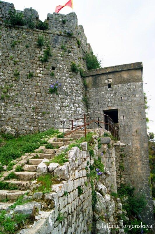 Вход в крепость Св. Ивана