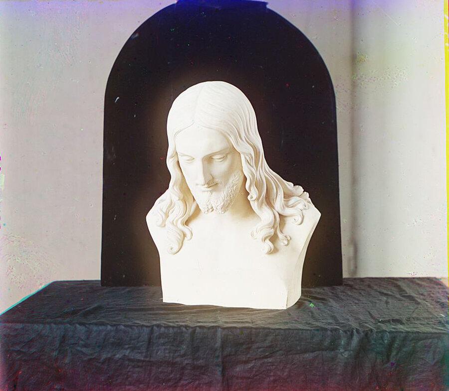 Бюст Иисуса Христа. В Тверском музее
