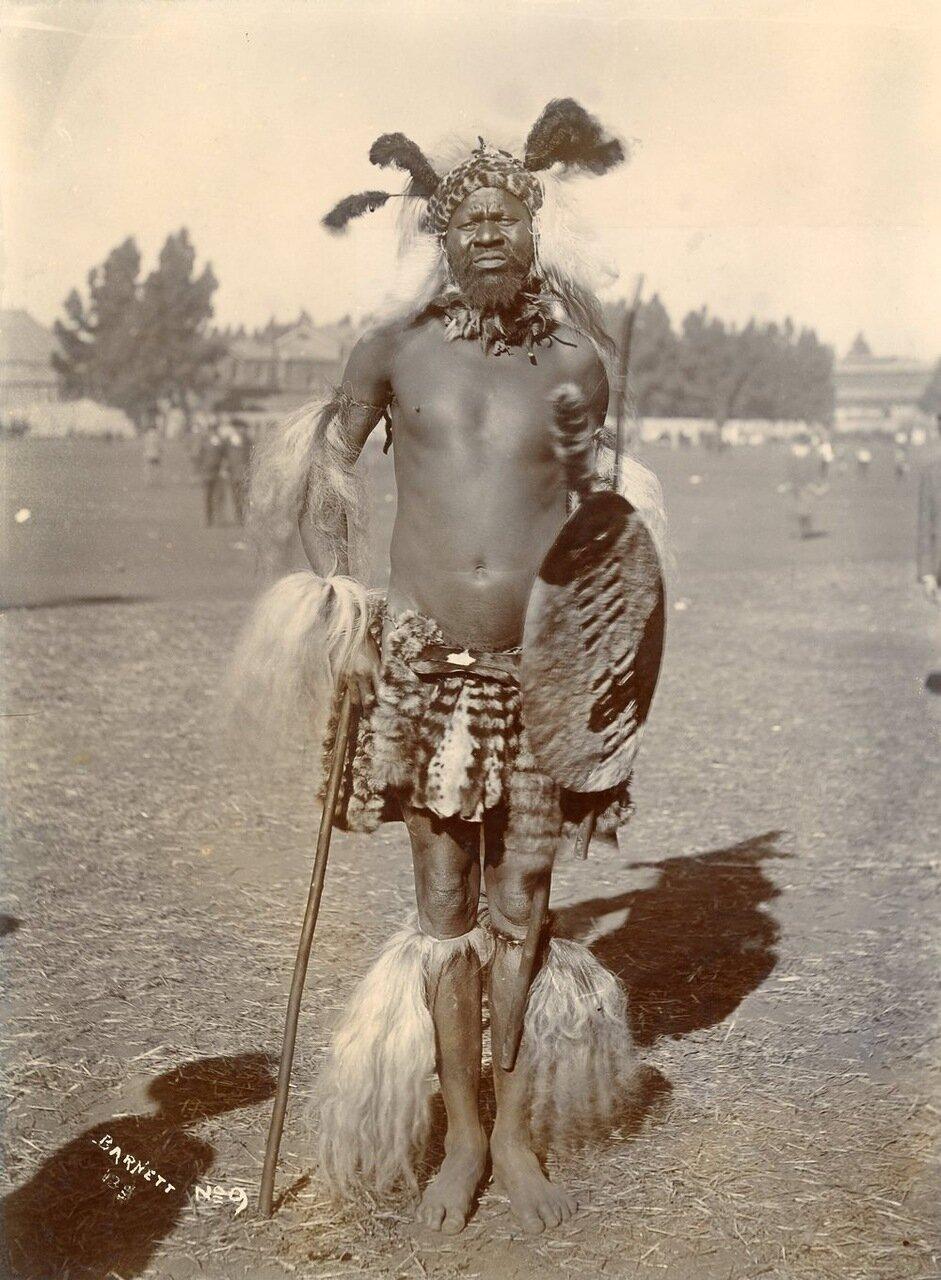 Южная Африка Парад в честь юбилея королевы Виктории, Йоханесбург, 22 июня 1897