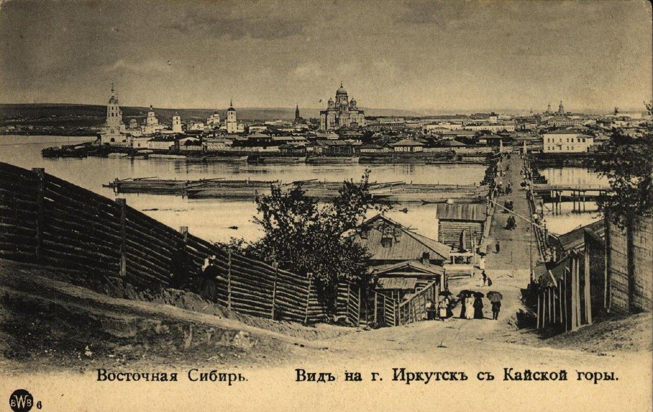 Вид на гор. Иркутск с Кайской горы