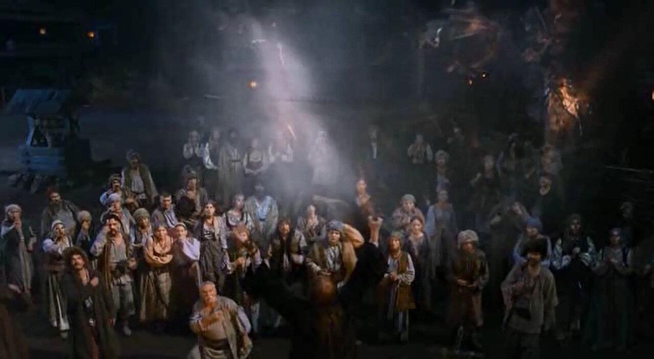 Церковное шоу со спецэффектами