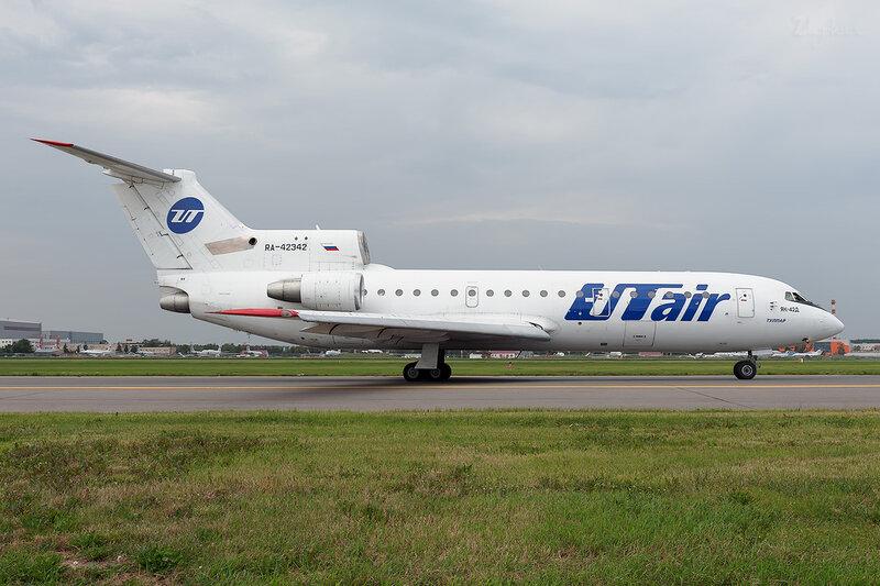 Яковлев Як-42Д (RA-42342) UTair DSC_1647