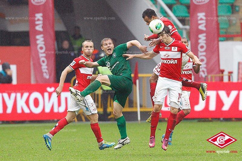«Спартак» vs «Томь» 2:1 Премьер-лига 2013-2014 (Фото)