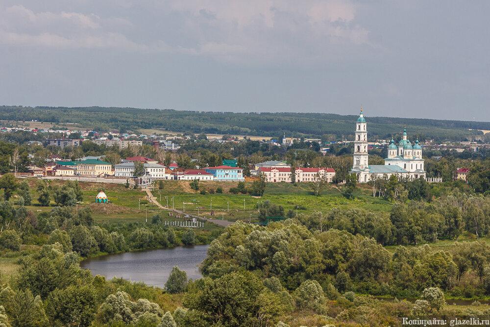 Панорама Елабуги.