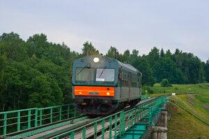 АЧ2-084, мост через р. Угра, перегон Волоста-Пятница - Угра