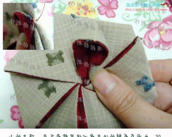 Красивая цветочная сумка. Мастер - класс