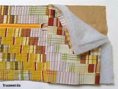Как сшить сумку-кофр из ткани