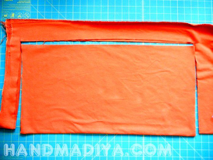 DIY No Sew Skirt  DIYIdeaCentercom