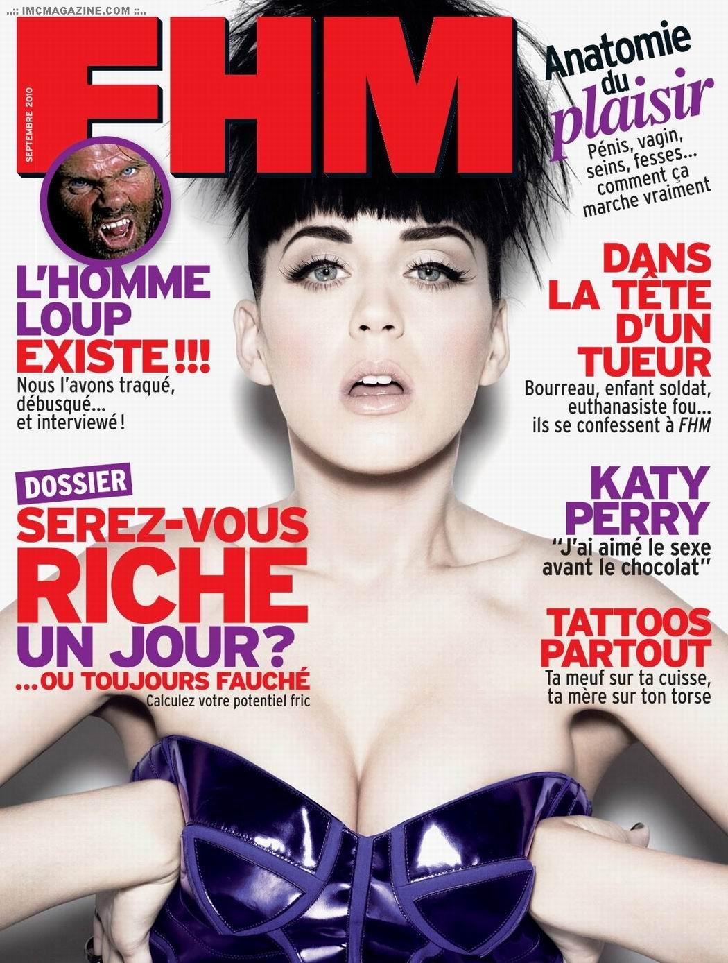 Кэти Перри (Katy Perry) в журнале FHM Франция, сентябрь 2010