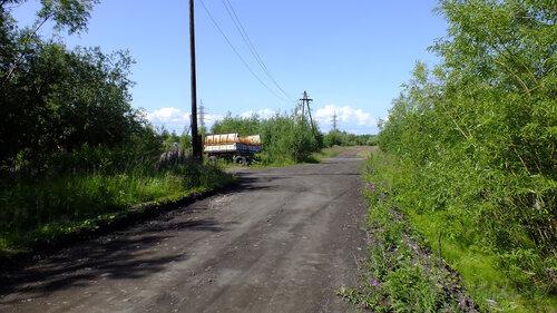 Фото города Инта №5236  Новая вторая линия в южном направлении в районе ДК