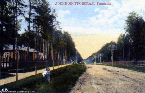 1912, Гимназия на современной улице Коминтерна