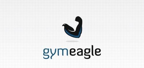 Спортивная айдентика. Логотипы для тренажёрных залов, фитнесс-клу5a8бов, йога-центров, etc