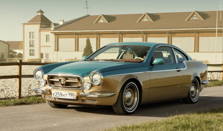 Что касается двухдверки Bilenkin Vintage, то этот проект делался с оглядкой на классические автомоби