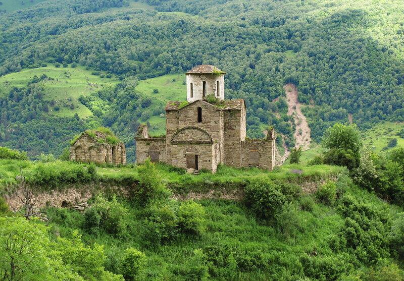 Сентинский храм Х века