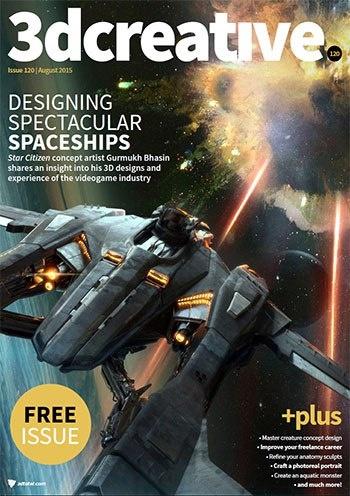 Книга Журнал: 3DCreative Magazine №120 ( 2015) [En]
