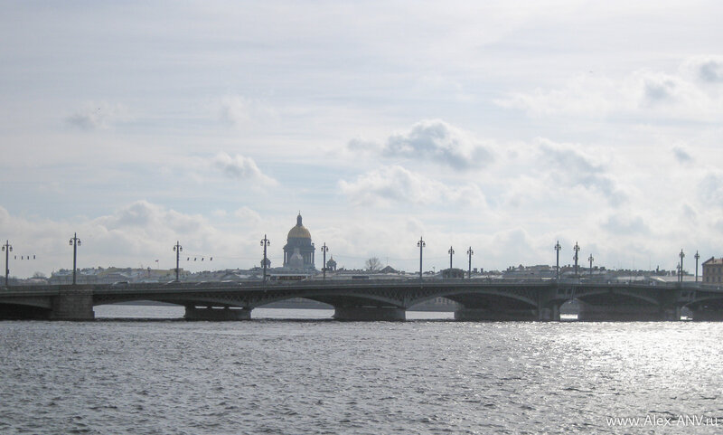 Исаакий и Благовещенский мост
