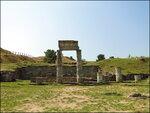 Керчь, городище античного Пантикапея.