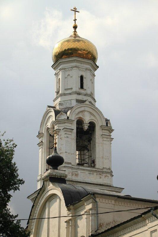 Колокольня храма Николая Чудотворца в Рогачёве