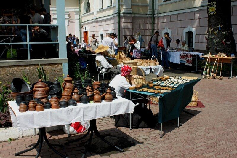 Выставка продажа гончарных изделий