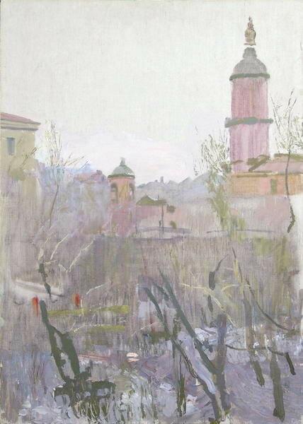 Иогансон Борис Владимирович (1893, Москва - 1973, Москва). Меншикова башня, 1960
