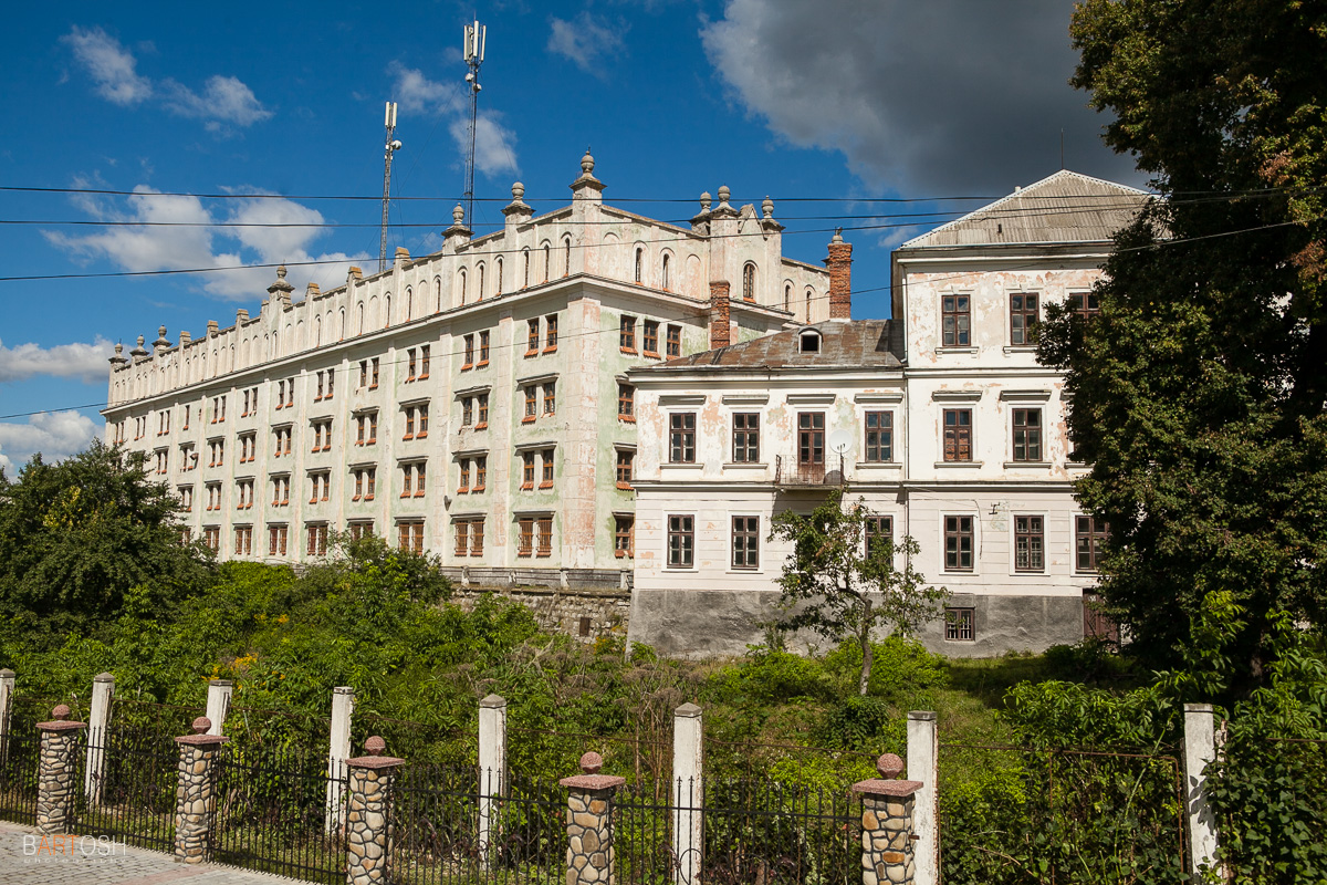 Ягельницкий замок, Тернопольская область
