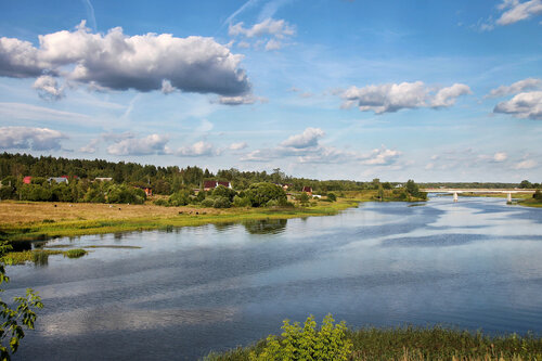 Река Хотча.
