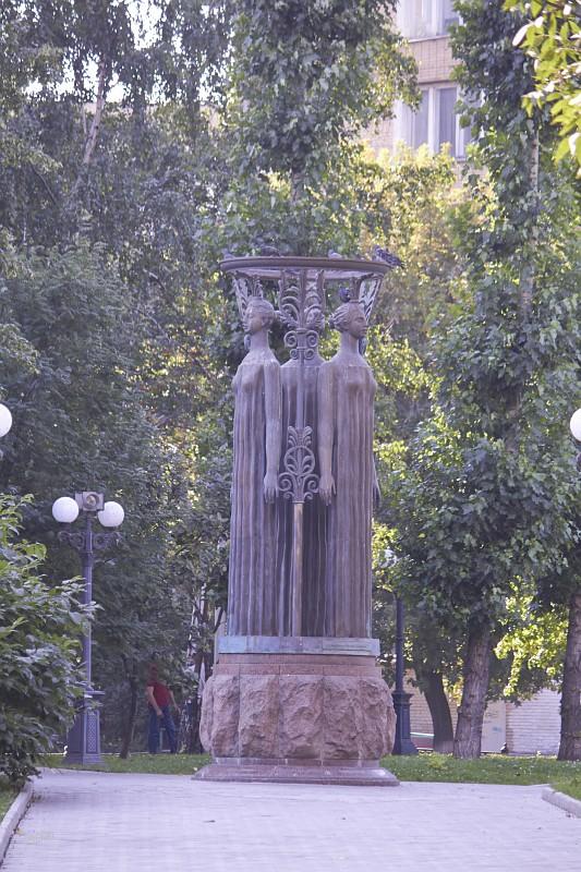 Скульптурная композиция «Содружество»