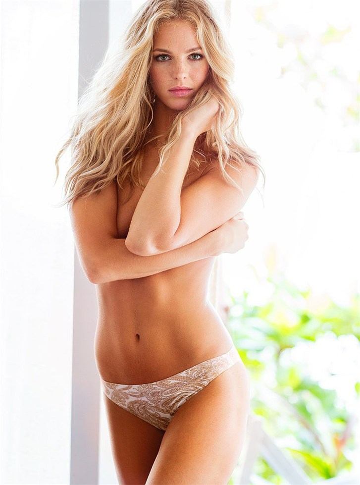 Victoria's Secret lingerie july 2013 - Erin Heatherton / Эрин Хизертон