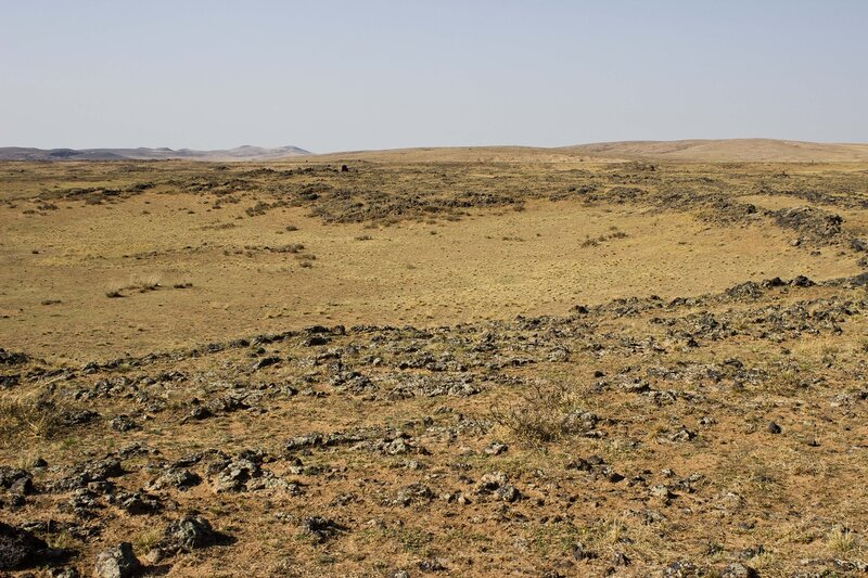 лавовое поле Wulan Hada, Baiyinchagan volcano group