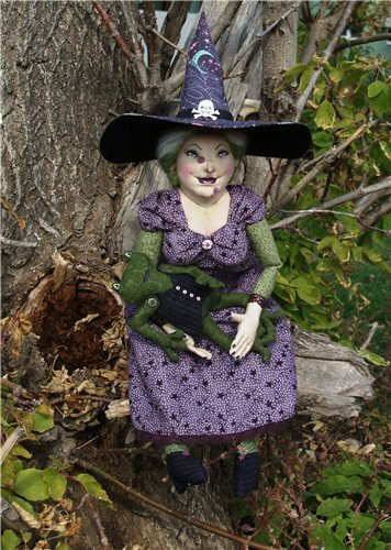 ведьмочка кукла