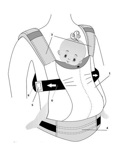Классический эргономичный рюкзак